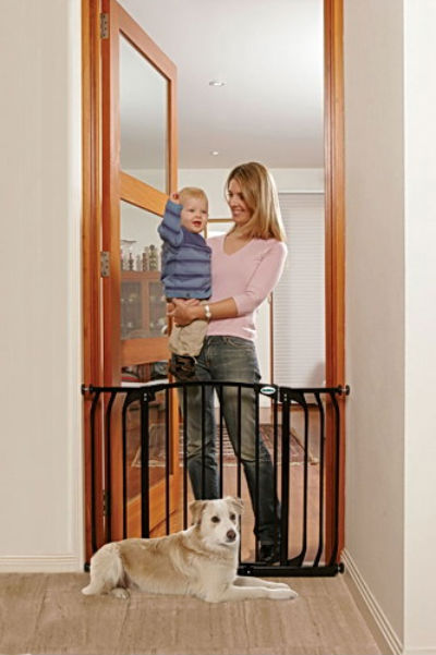 Bindaboo Hallway Security Pet Gate Black 400-B1104