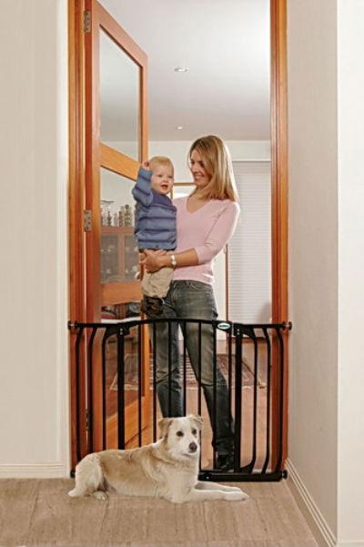 Bindaboo Hallway Security Pet Gate Black 400-B1104