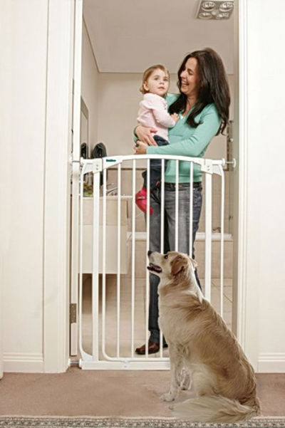 Bindaboo Extra Tall Swing Close Pet Gate White 400-B1121