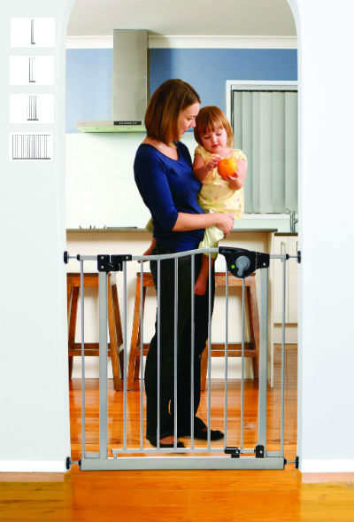 Magnetic Auto Close Baby Gate  400-L870S_L871S_L872S_L873S_L877S