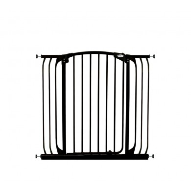 Bindaboo Extra Tall Hallway Pet Gate Black