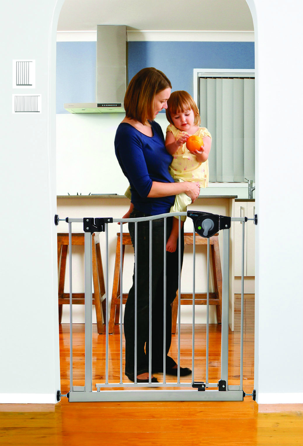 Magnetic Auto Close Baby Gate 800-L870S-L874S-L875S