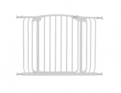 Bindaboo Hallway Safety Pet Gate White B1103