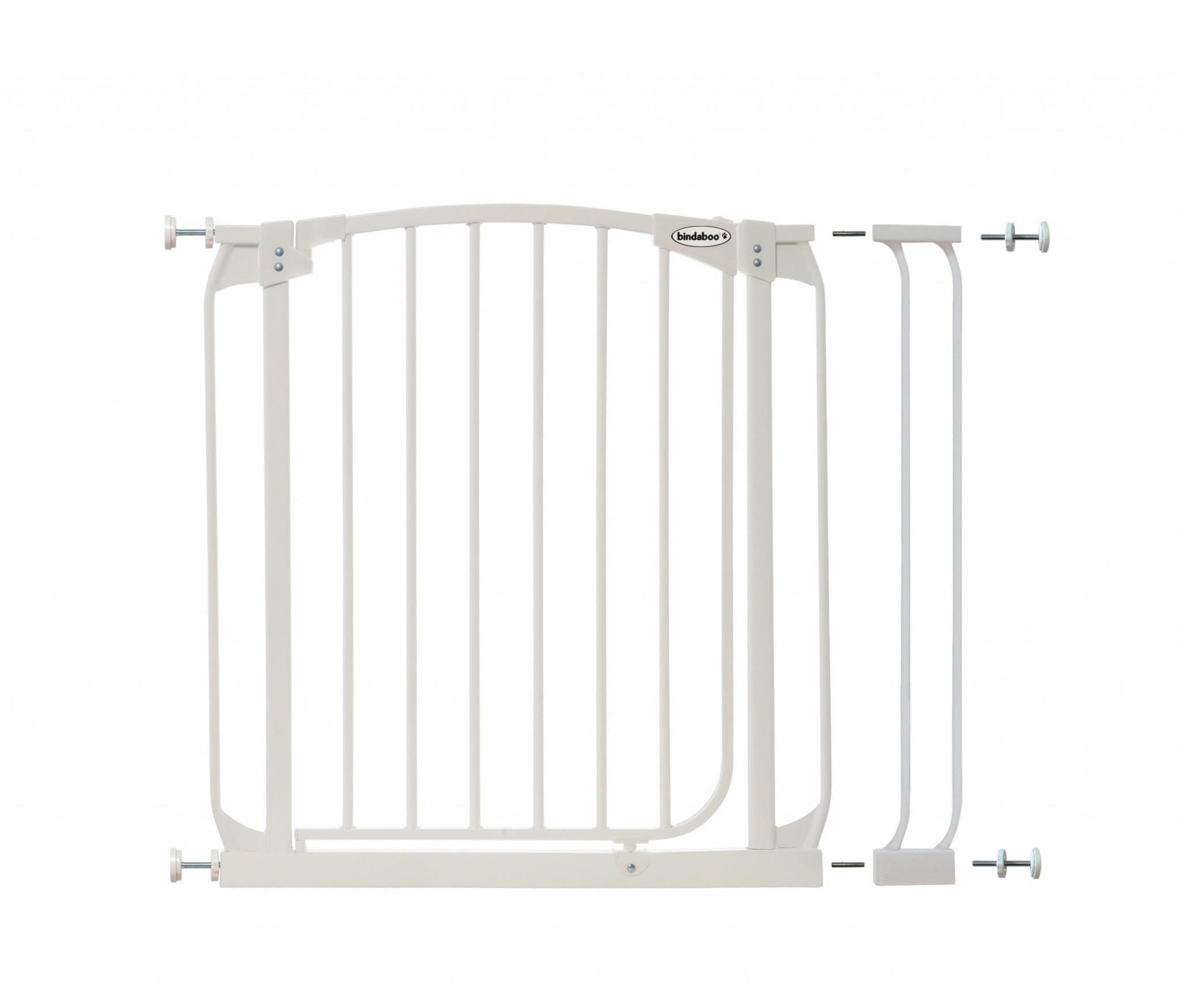 Bindaboo Swing Close Pet Gate Plus 3.5 White B1133