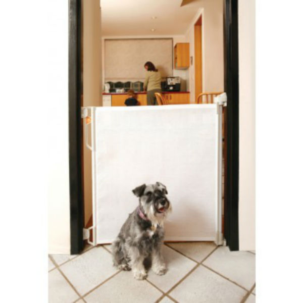 Bindaboo Retractable Pet Gate Up To 55w Pet Gates And
