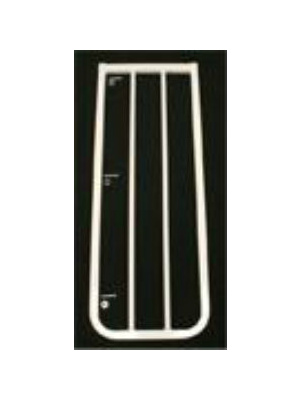 10.5 inch gate extension white autolock gate for stairs BX1-W-400