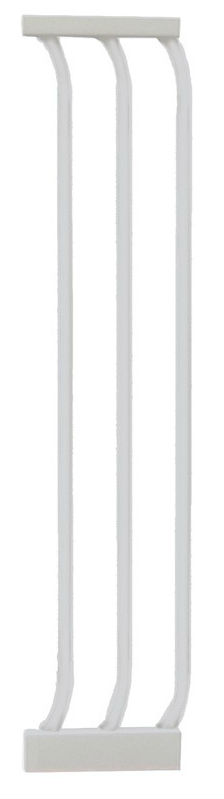 Hallway Security Pet Safety Gate Extension White F171w_800