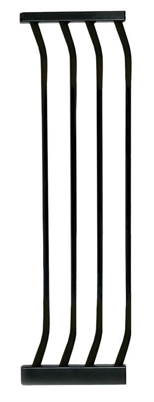 Hallway Security Pet Safety Gate Extension Black F172B-1