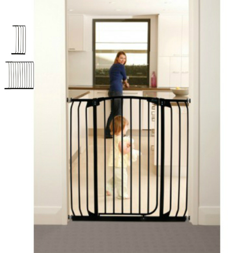 Black Dreambaby F845B 39-Inch Extra Tall Gate Extension
