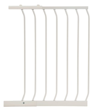 Hallway Security Pet Safety Gate Extension White  F833W