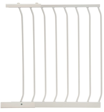 Hallway Security Pet Safety Gate White F834W