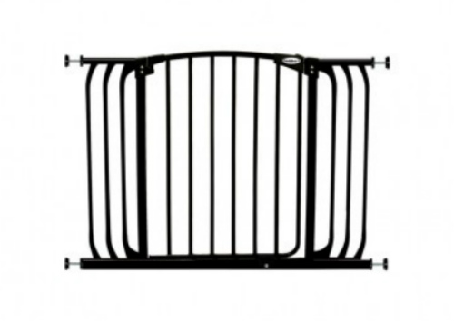 Bindaboo Hallway Safety Pet Gate Black B1104