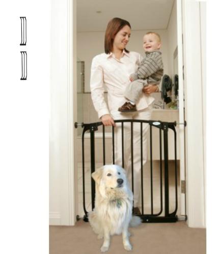 Swing Close Baby Safety Gate Black F160B-F171B-F171B