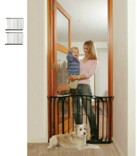 Swing Close Baby Safety Gate Black F170B-F835B-F835B