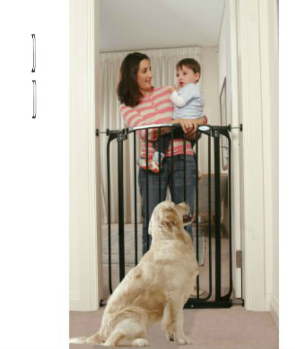 Extra Tall Swing Close Baby Gate Black F190B-F192B-F192B