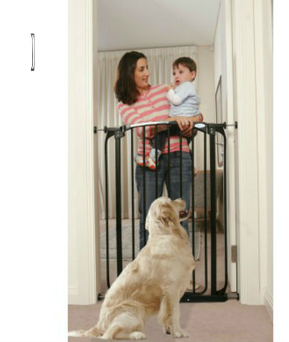 Swing Close Baby Safety Gate Black F190B-F192B