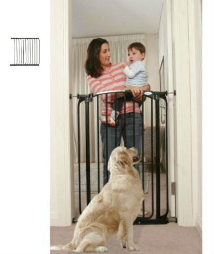 Extra Tall Swing Close Baby Gate F190B-F845B