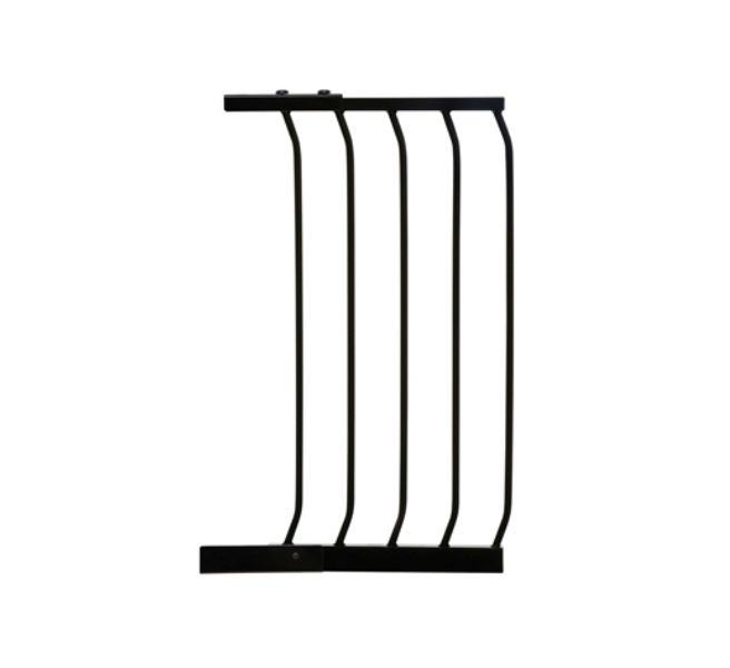 Swing Close Baby Safety Gate Extension Black F831B-656
