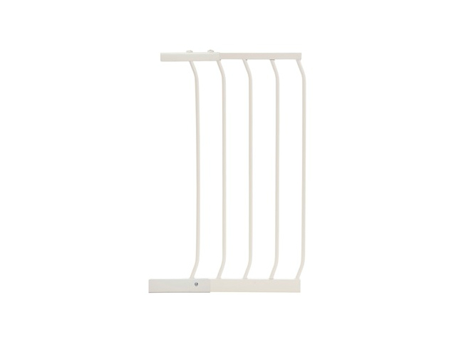 Swing Close Baby Safety Gate Extension White F831W-640