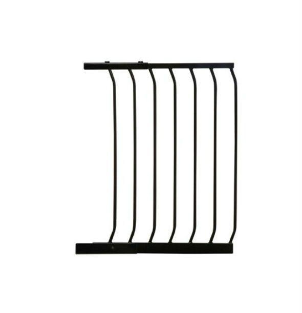 Swing Close Security Baby Gate Black F833B-600
