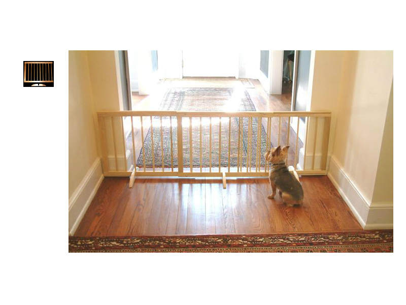 Step Over Wood Pet Gates SG-SGX-SGX-N