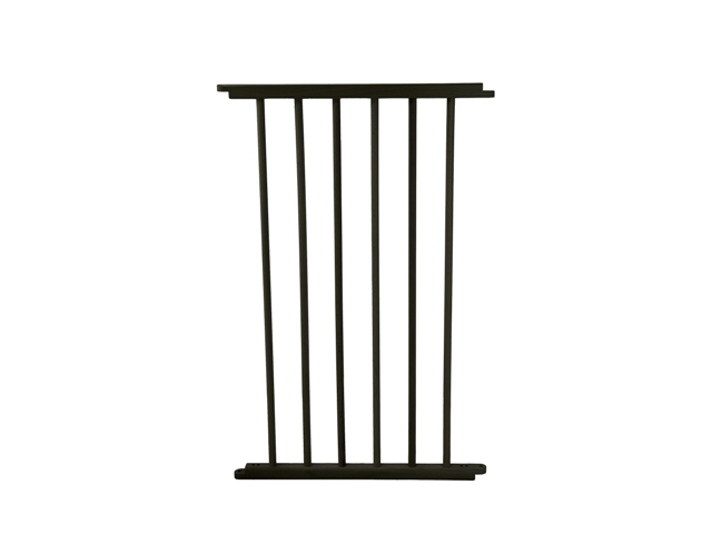 Versagate 20 Inch Gate Extension in Black VG20-BK-640