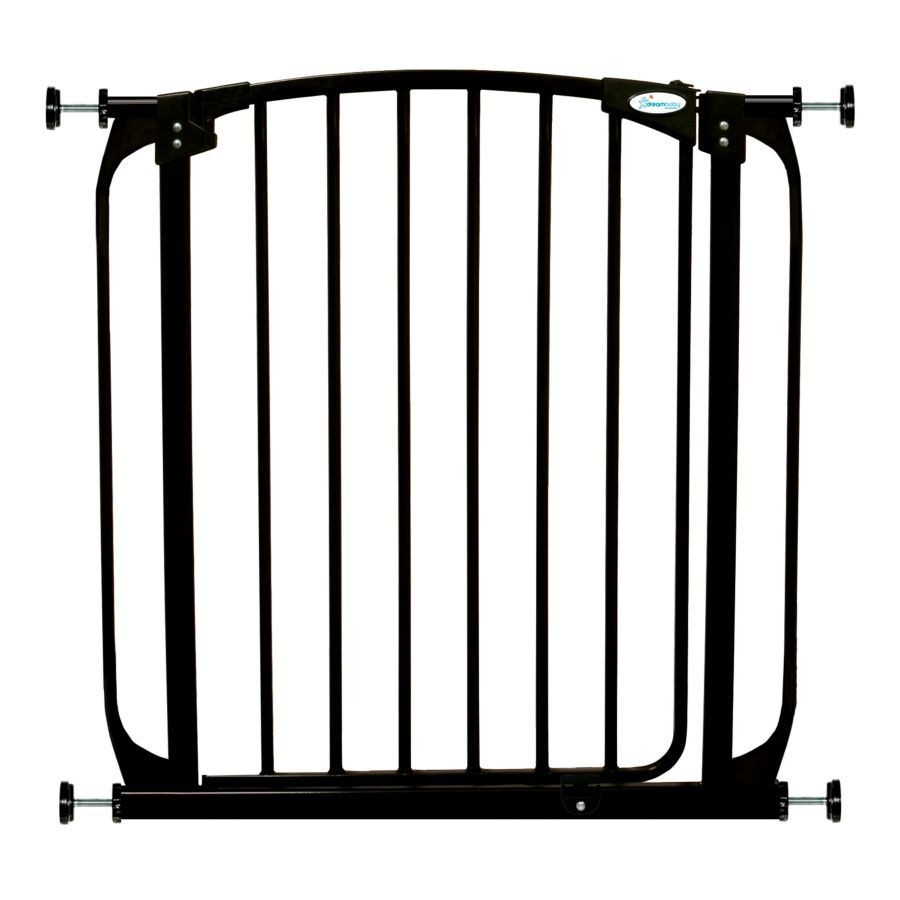 Swing Close Baby Safety Gate Black F160B