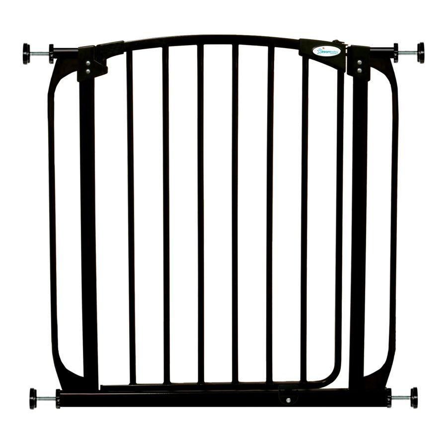 Swing Close Baby Safety Gate Black F160B